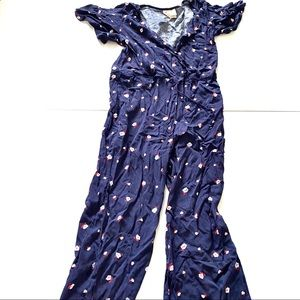 Mimi Chica NWT floral jumpsuit XS